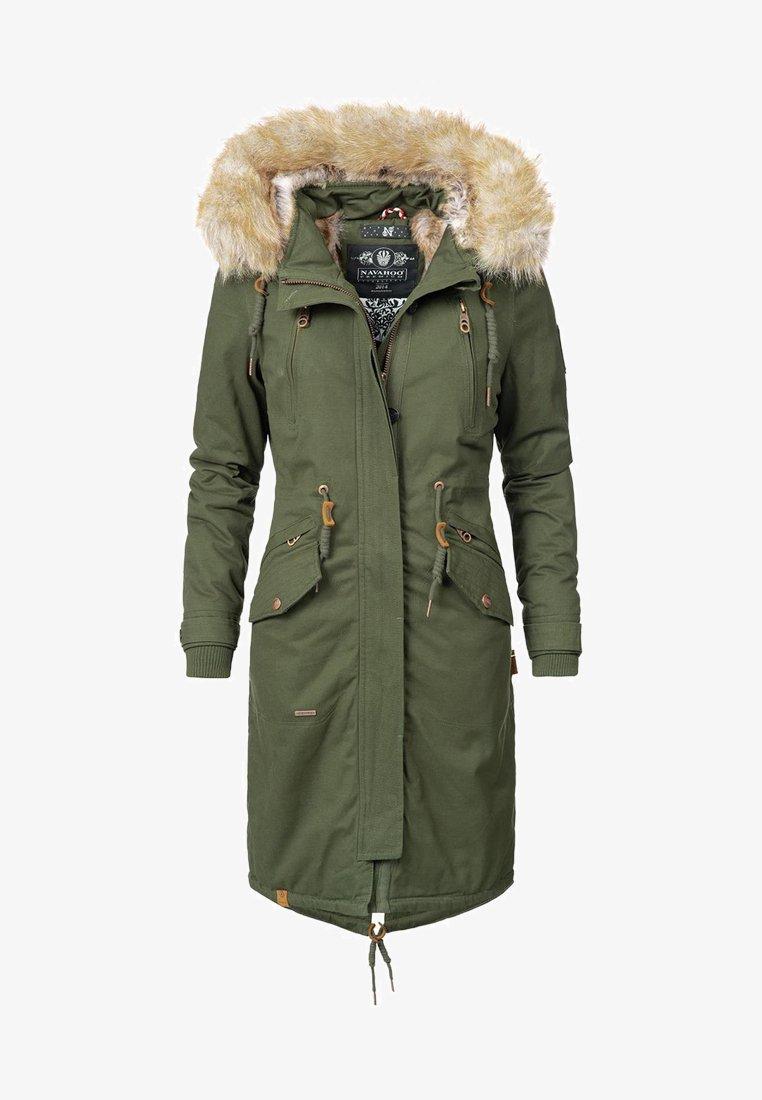 Navahoo - Winter coat - green