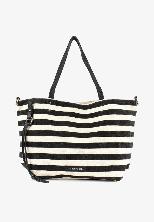 Tote bag - black / white
