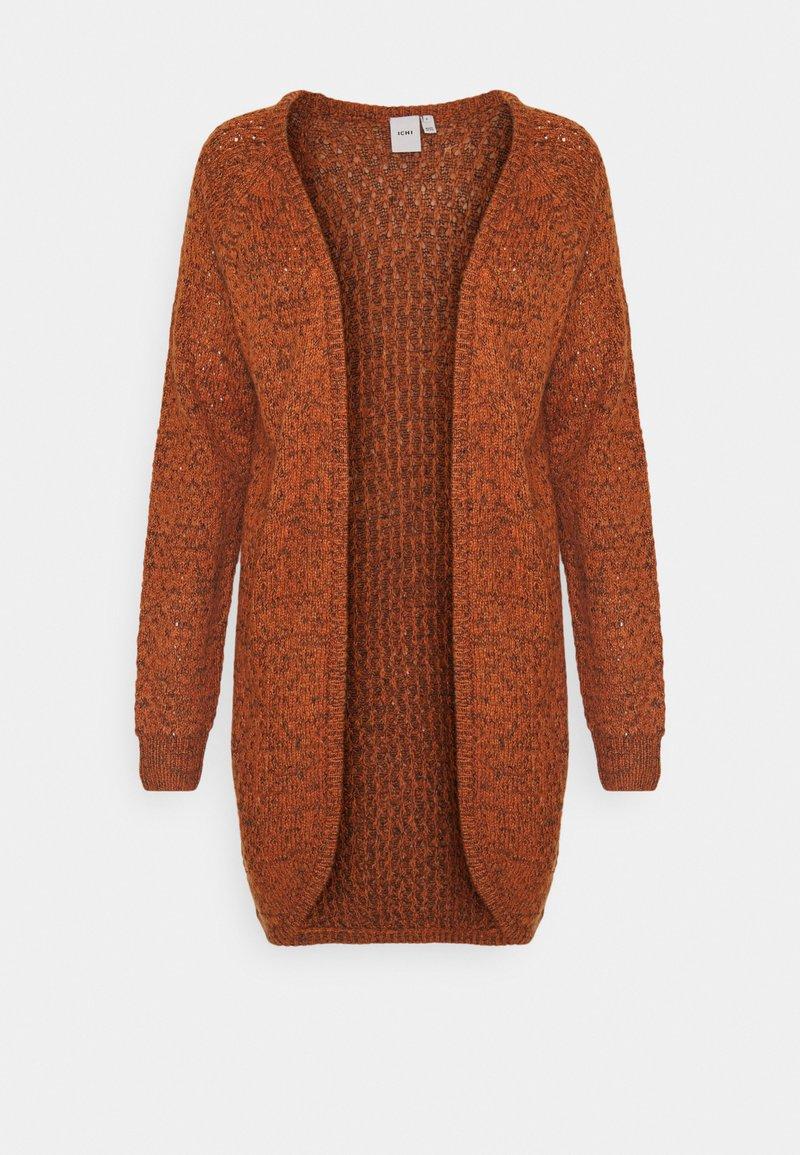 ICHI - OLANDA  - Cardigan - bombay brown