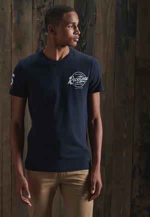 MOTOWN & SOUL - Print T-shirt - atlantic navy