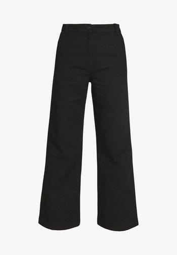 DELILAH TROUSER - Kalhoty - black