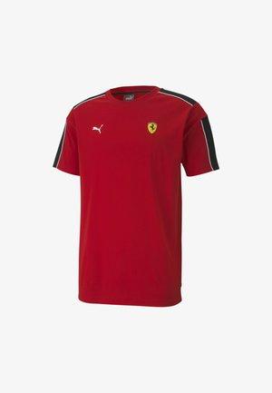 T-Shirt print - rosso corsa