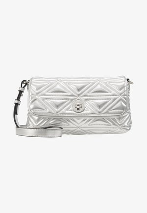 CAPSULE HOLIDAY QUILT - Borsa a tracolla - argento silver