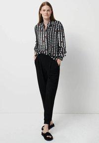 someday. - Zameru - Button-down blouse - bleu - 1