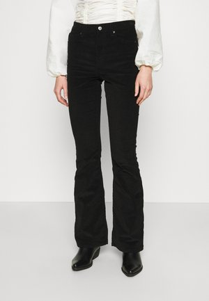 JAMIE - Flared Jeans - black