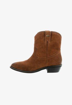 WOLKENSTEIN - Kovbojské/motorkářské boty - brown