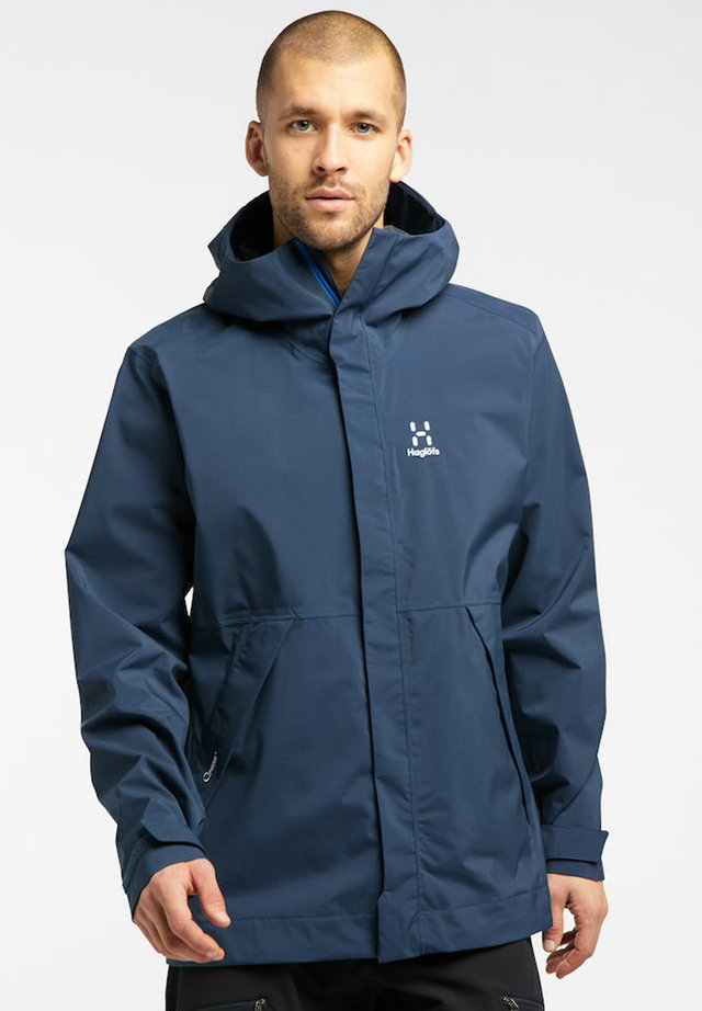 Hardshell jacket - tarn blue