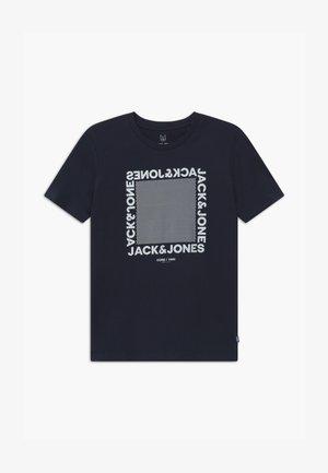 JCOLARSEN TEE CREW NECK - T-shirt con stampa - navy blazer