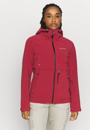 BEACON TRAILSHELL - Chaqueta outdoor - marsala red