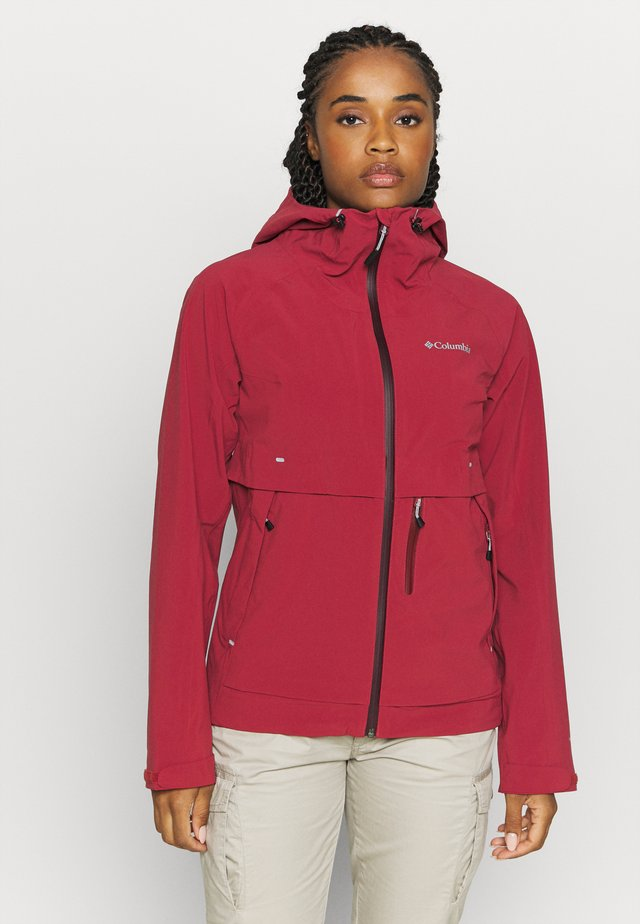 BEACON TRAILSHELL - Giacca outdoor - marsala red
