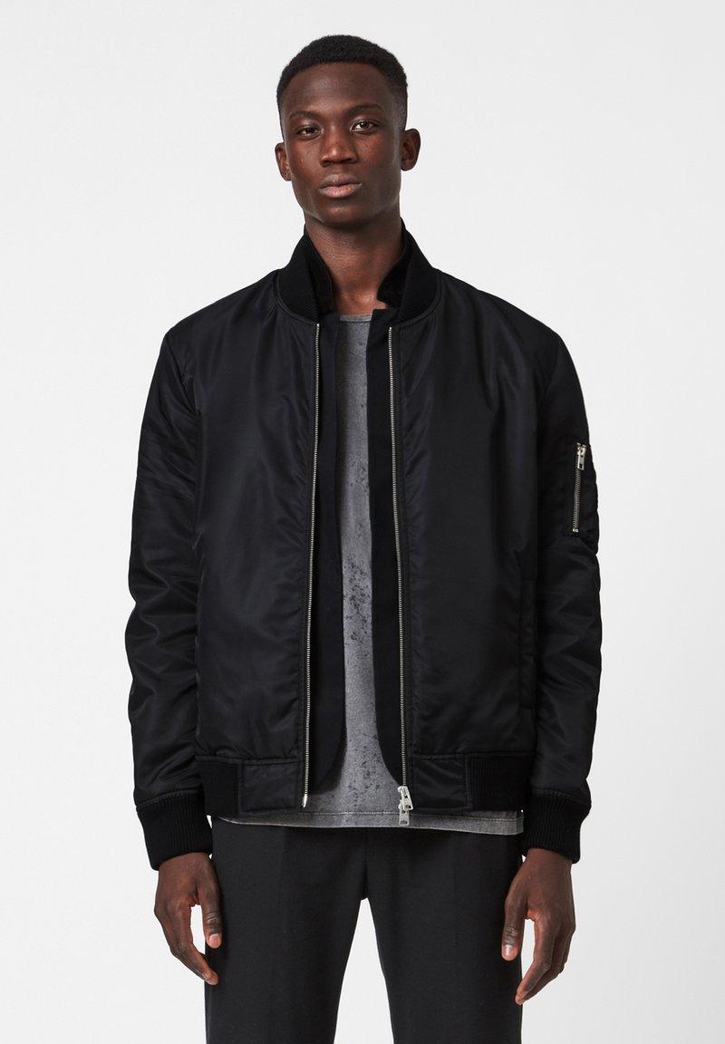 AllSaints - GRANTHEM - Bomber Jacket - black