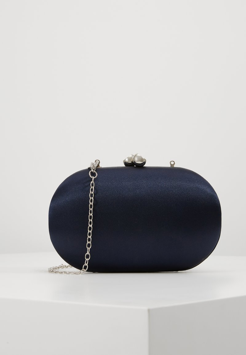Dorothy Perkins - ROUNDED BOX CLUTCH - Clutch - navy