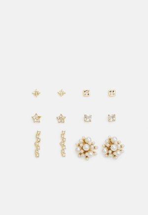 PCSOFFIE EARRINGS 6 PACK - Earrings - gold-coloured