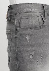 G-Star - 3301 Slim - Jeansshorts - slander grey superstretch - 4