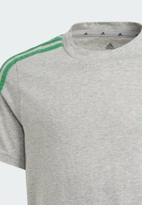 adidas Performance - ADIDAS ESSENTIALS 3-STRIPES T-SHIRT - Print T-shirt - grey - 2