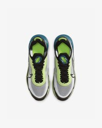 Nike Sportswear - AIR MAX 2090 - Trainers - white/black-volt-blue force