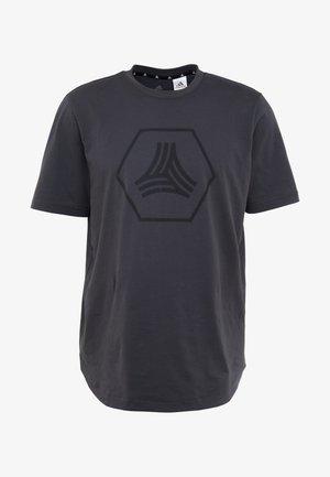 TAN LOGO TEE - Print T-shirt - grey