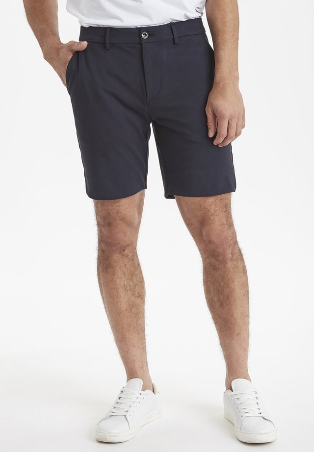 SLIM FIT - Shorts - navy