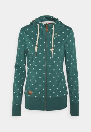 PAYA  - Zip-up hoodie - dark green