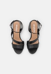 Simply Be - WIDE FIT BRITTANY - Sandals - black - 5