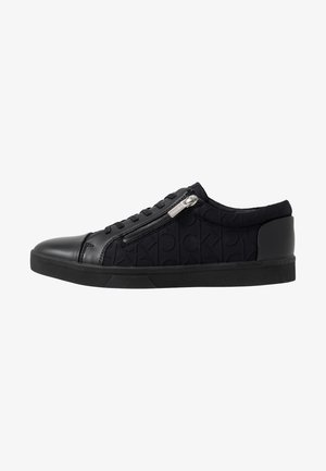 IBRAHIM BRUSHED - Trainers - black