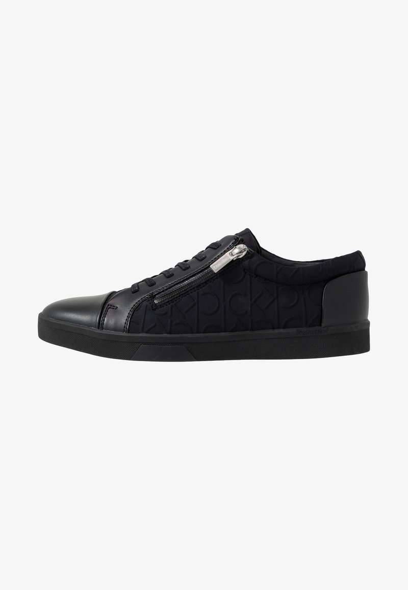Calvin Klein - IBRAHIM BRUSHED - Sneakers laag - black