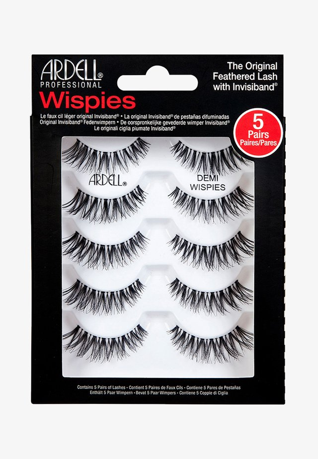 MULTIPACK DEMI WISPIES BLACK - False eyelashes - -