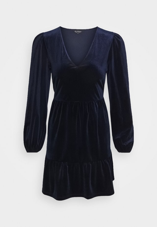 MIDNIGHT SMOCK DRESS - Day dress - blue