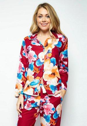 Pyjamapaita - red print