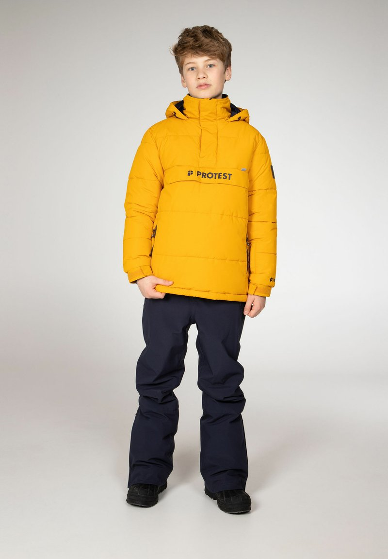 Protest - DYLAN JR  - Snowboard jacket - dark yellow