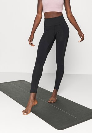 BORN TO RUN LEGGING - Leggings - black