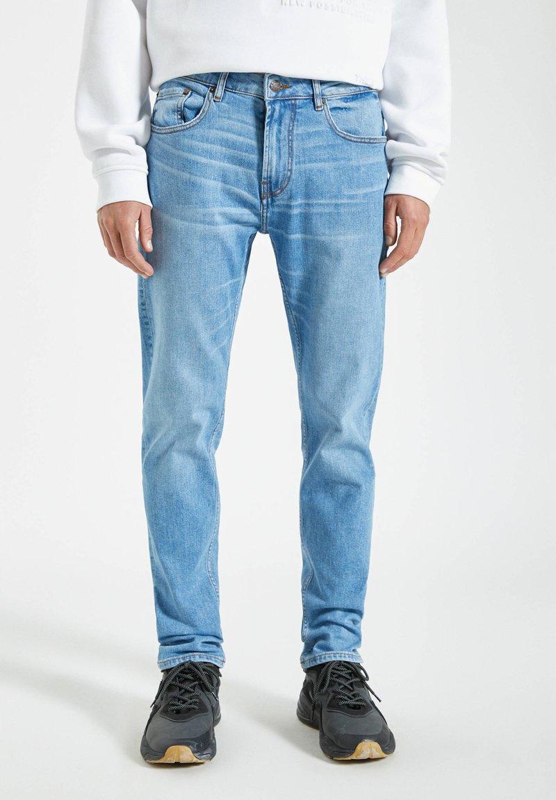 PULL&BEAR - Slim fit jeans - stone blue denim