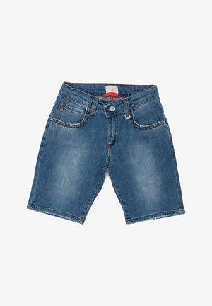 BERMUDA - Jeansshort - azzurro