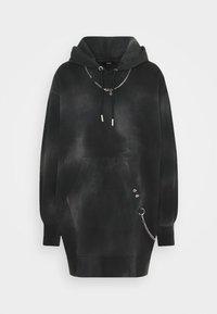 Diesel - D-CADENA DRESS - Day dress - grey/black - 0