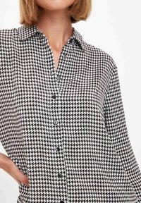 DeFacto - Button-down blouse - ecru - 3