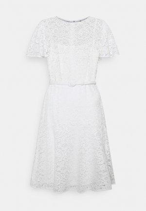 GORDON STRETCH DRESS - Vestido de cóctel - white