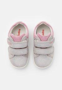 Superfit - STARLIGHT - Baby shoes - hellgrau/rosa - 3