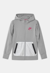 Nike Sportswear - AIR HOODIE - Mikina na zip - light smoke grey - 0