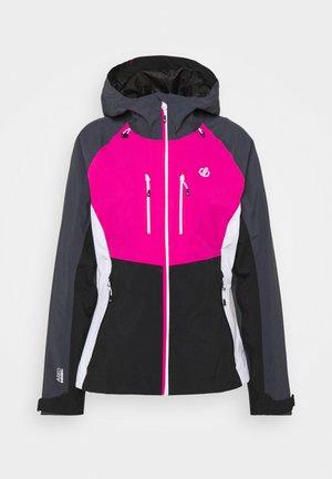 DIVERSE JACKET - Outdoor jacket - active pink/black