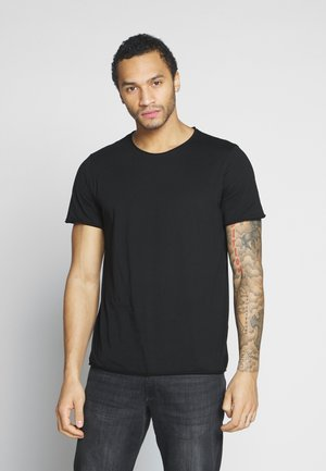 DARK - Jednoduché triko - black