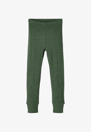 Leggings - Trousers - duck green