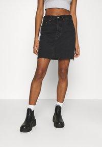 Levi's® - DECON ICONIC SKIRT - Mini skirt - dark gossip - 0