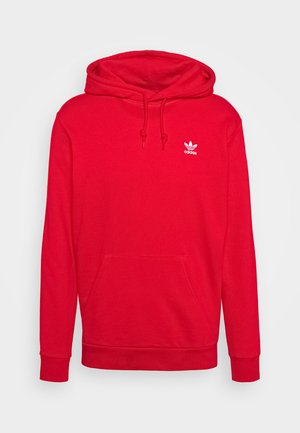ESSENTIAL HOODY UNISEX - Jersey con capucha - scarlet