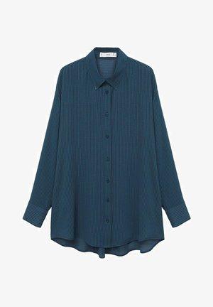 CAMISA OVERSIZE  - Camisa - azul
