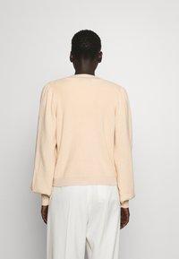 Bruuns Bazaar - ANEMONE MIRE CARDIGAN - Cardigan - pale sand - 2