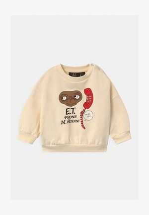 BABY E.T. UNISEX - Sweatshirt - offwhite