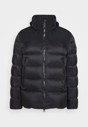 Gewatteerde jas - black