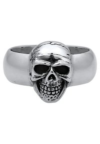KUZZOI - TOTENKOPF - Ring - silver-coloured - 4