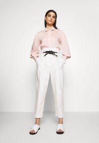 DESIGNERS REMIX - MELA - Button-down blouse - peach - 1