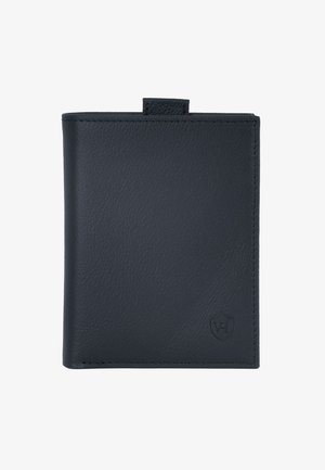 Wallet - schwarz (genarbt)